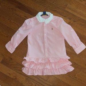 Girls polo ralph lauren dress.